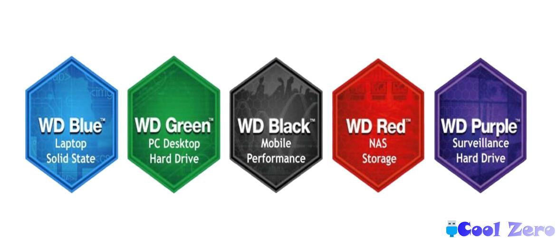 Цветовая схема WD