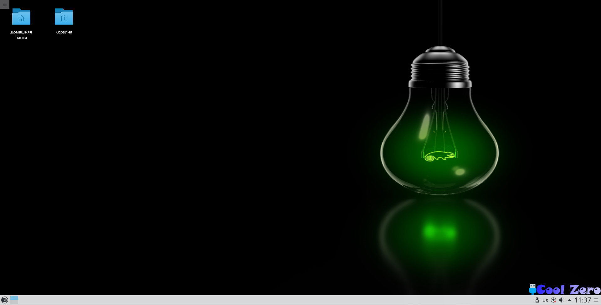 Рабочий стол OpenSUSE
