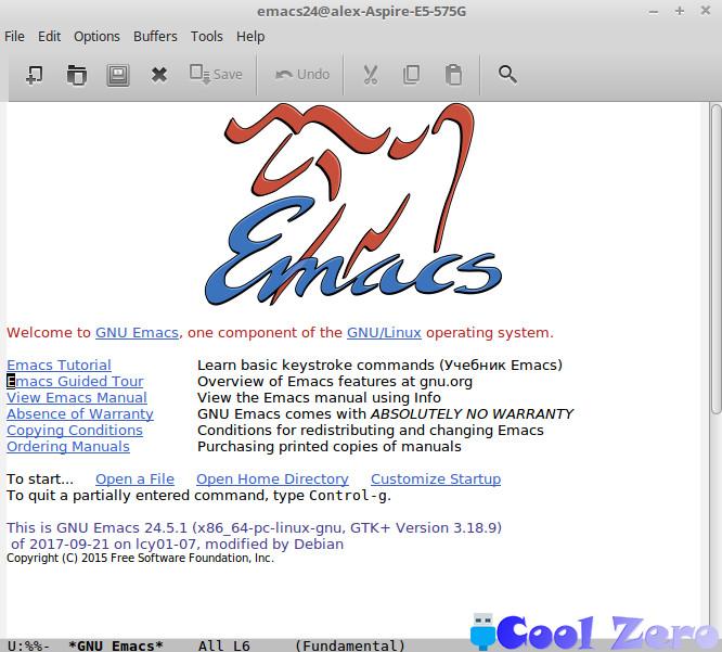 Редактор Emacs