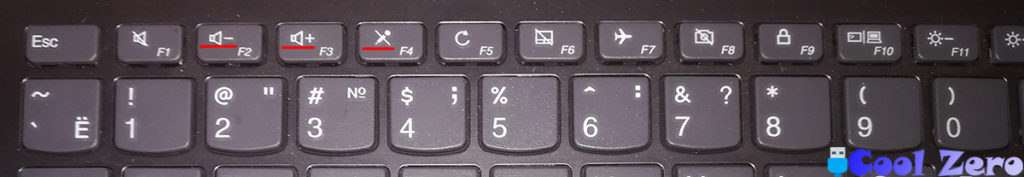 Lenovo Ideapad 330 включение функциональных клавиш